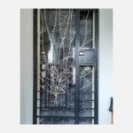 Leaf Wrought Iron Gate