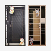lucky cat gate