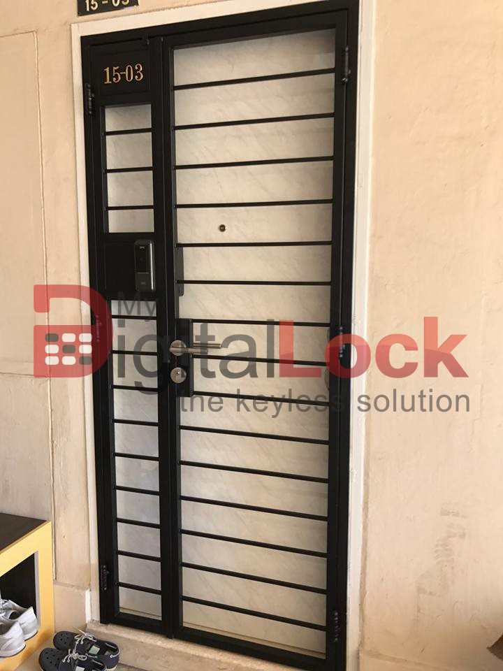 Buy Budget Design - HDB Gate @ My Digital Lock. Call 9067 7990