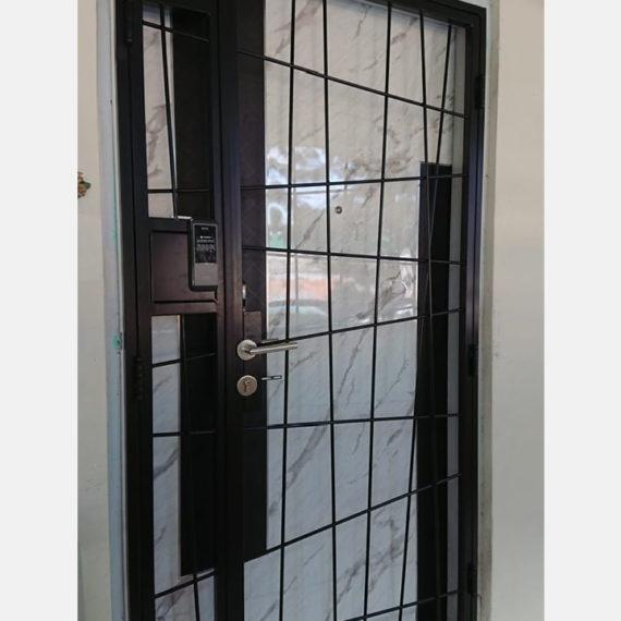 Budget-Line-Mild-Steel-Designer-HDB-Gate-4x7-feet