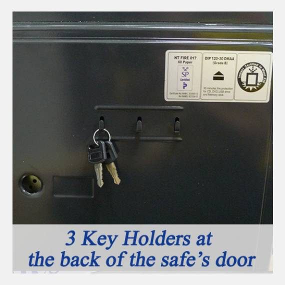 Buy DIPLOMAT 060EHK - Security fire safe @ My Digital Lock. Call 9067 7990