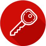 Samsung digital lock - Dr 708 key icon