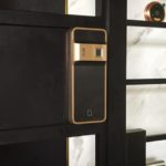 EPIC 5G Satin Gold Digital Lock-1