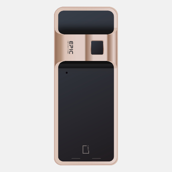 EPIC 5G Satin Gold Digital Lock