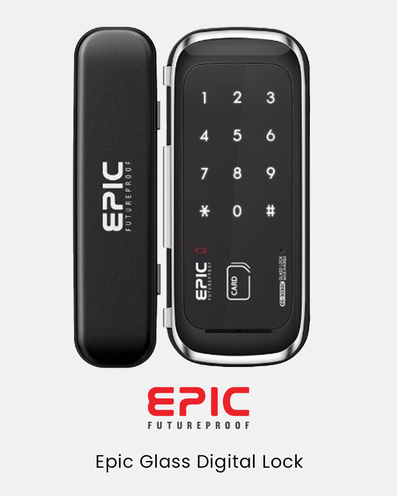 EPIC Glass Digital Lock