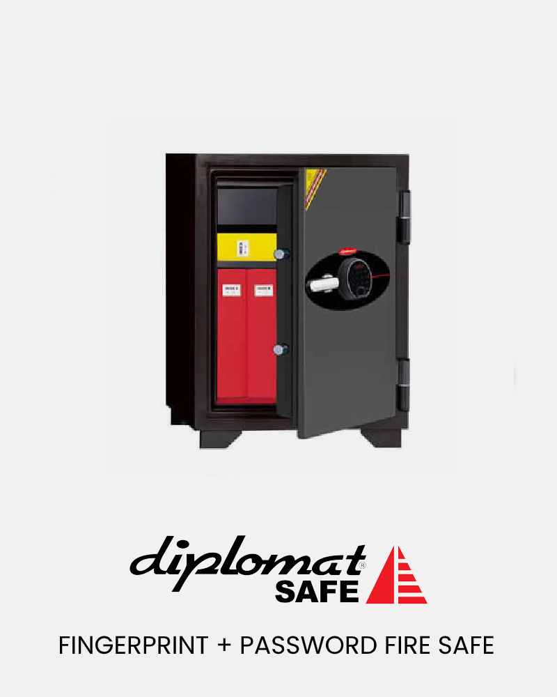 Fingerprint-Password-Fire-Safe
