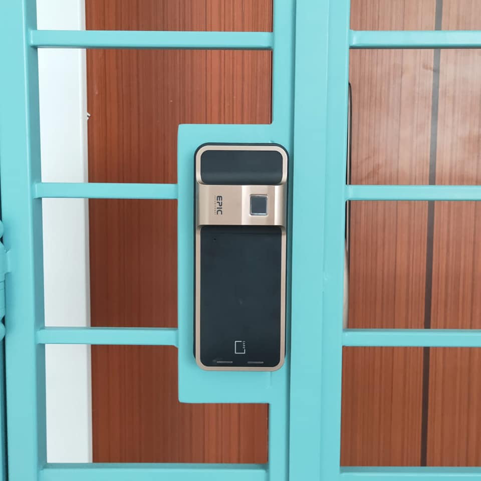 Gate Digital Lock - HDB Gate Mechanical Lock