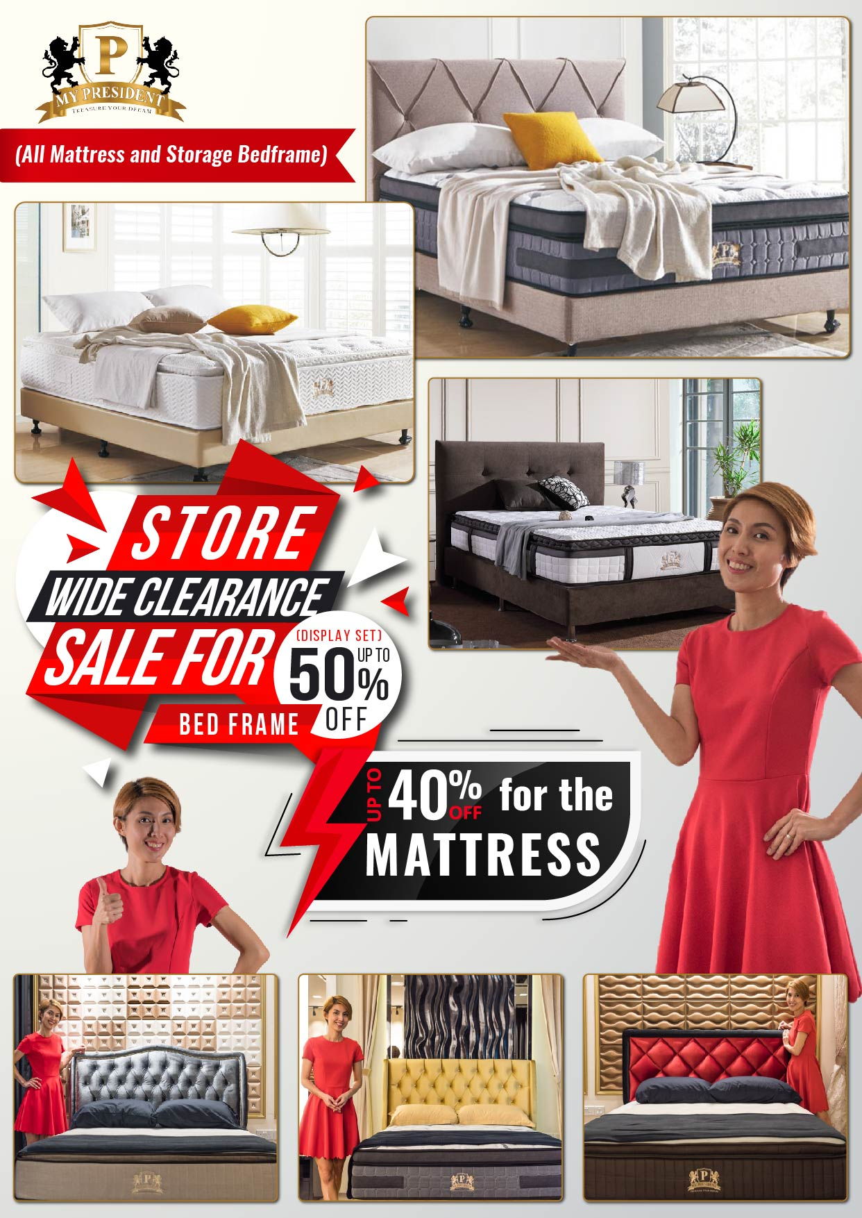 My-President-Mattress-Clearance-Sale