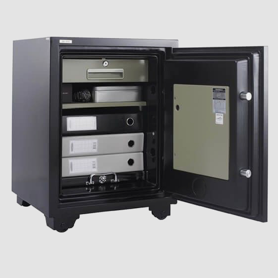 Buy NIKA FIRE RESISTANCE SAFE T670 NT670 - Security fire safe @ My Digital Lock. Call 9067 7990