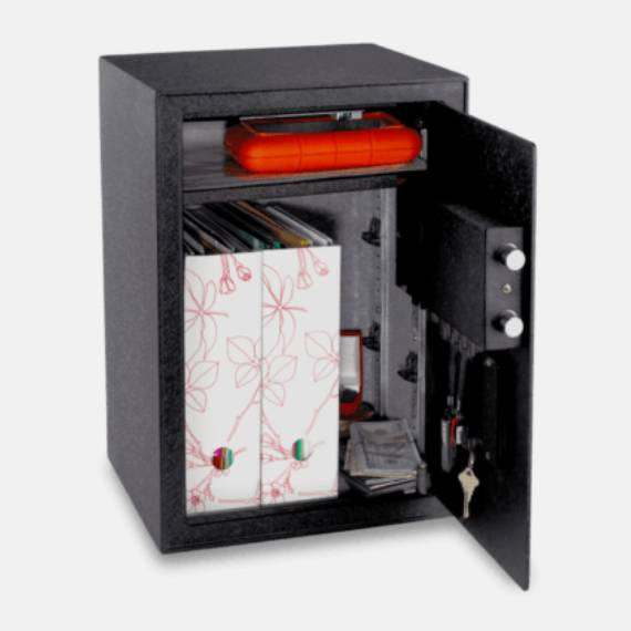 Buy NIKAWA FINGERPRINT SAFE 50FPD - Security fire safe @ My Digital Lock. Call 9067 7990