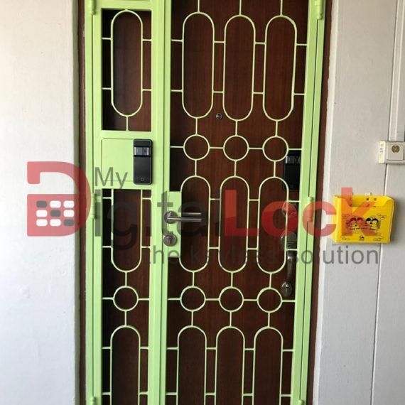 Buy Retro Design HDB Gate @ My Digital Lock. Call 9067 7990