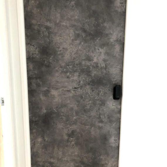 Retro & Vintage Laminate Bedroom Door
