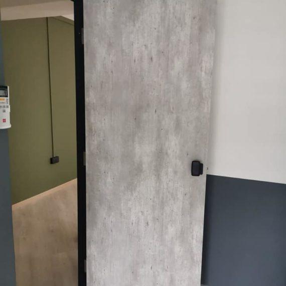 Retro & Vintage Laminate Bedroom Door (Up to 40 Wood Design)