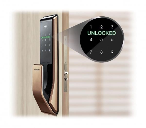 SHS-P717-DoorLock-Notification