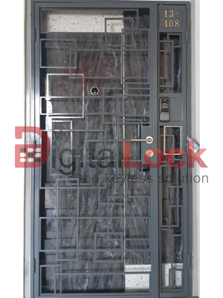 Buy SS Mix Designer - HDB Gate @ My Digital Lock. Call 9067 7990
