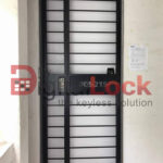 Buy Straight Line Design - HDB Gate @ My Digital Lock. Call 9067 7990