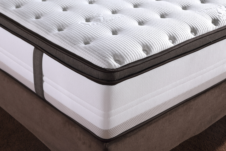 Thick Pillow Top with Premium Memory Foam