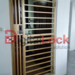 Buy Thick Simple Line - HDB Gate @ My Digital Lock. Call 9067 7990