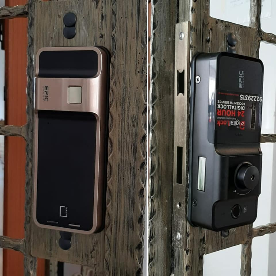Gate Digital Lock - Unlock Using Smartphone