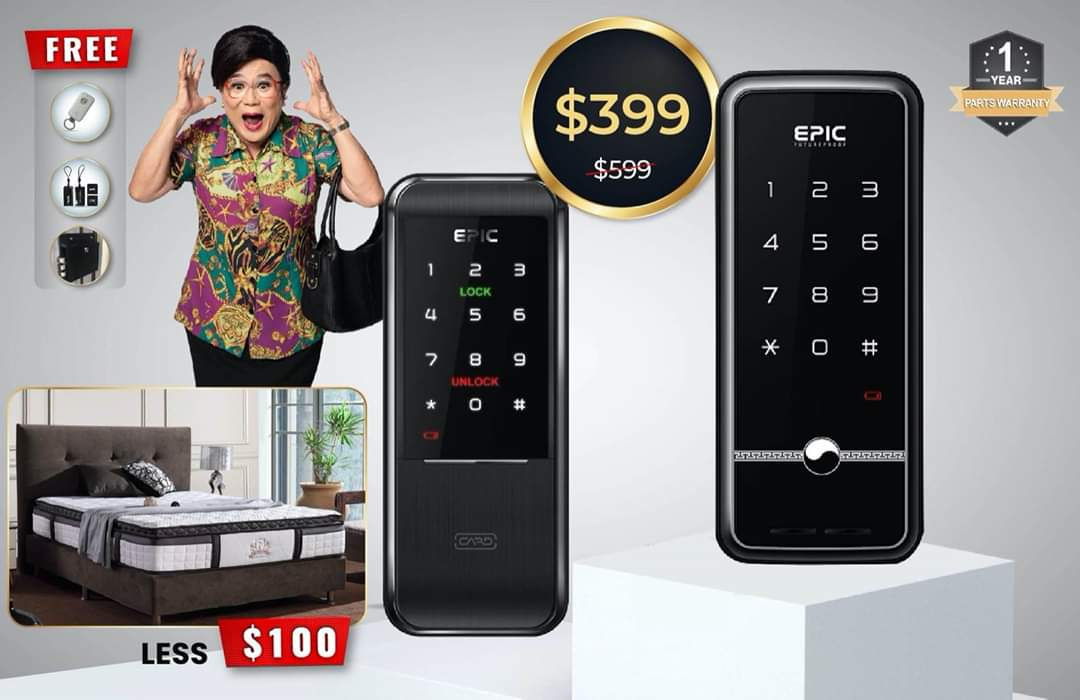 EPIC Digital Lock Clearance Sale