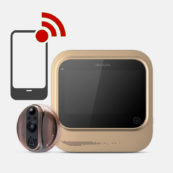 Buy WI-FI Door Viewer and HDB Fire Rated Door @ My Digital Lock. Call 9067 7990
