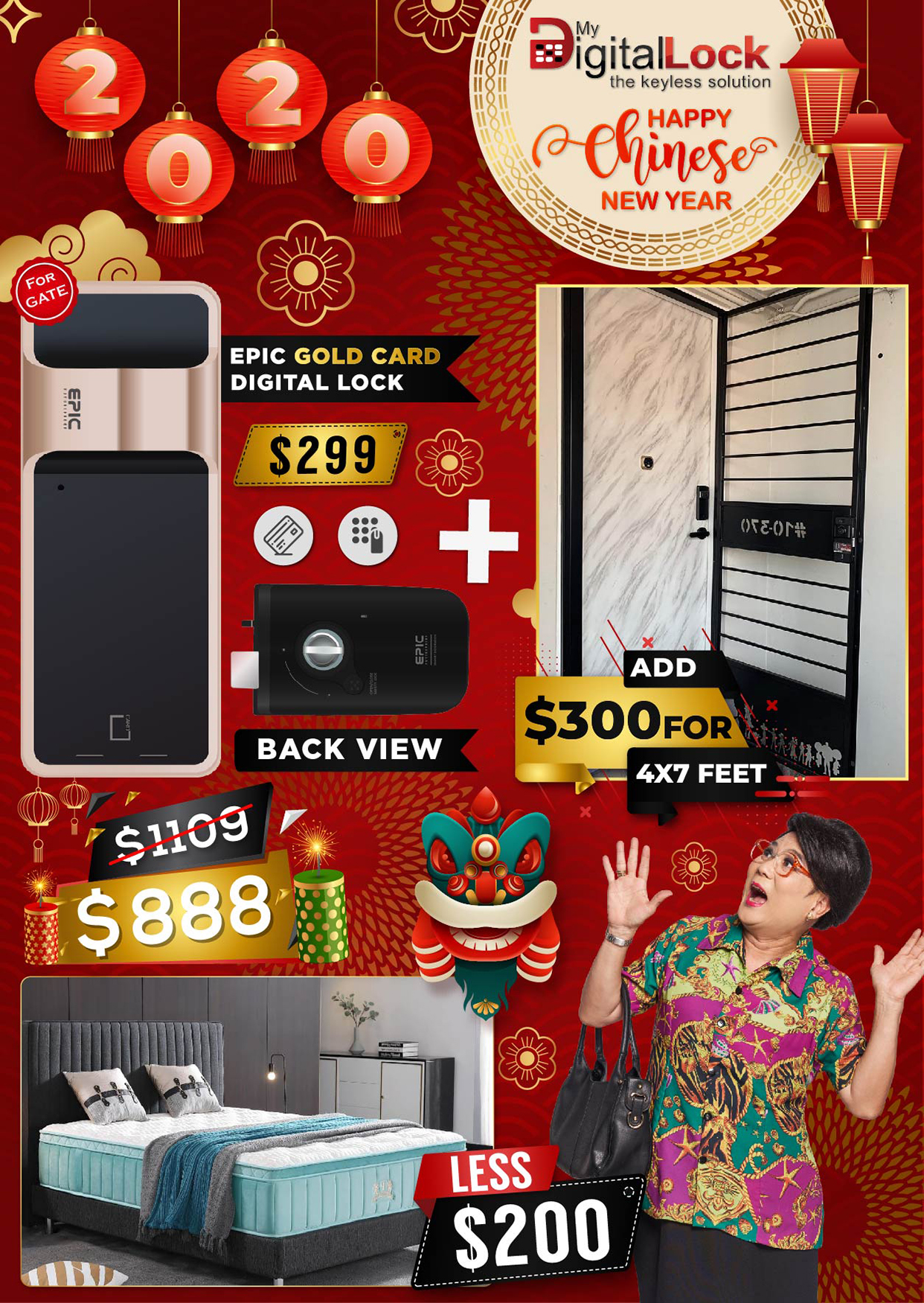 Chinese-New-year-Epic-Gold-Card-Digitallock