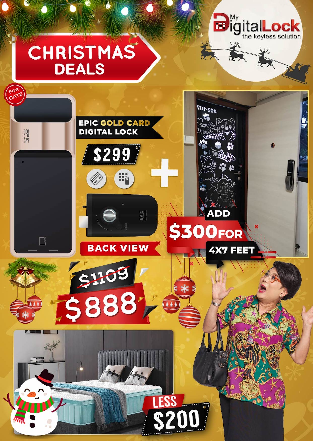 My-Digital-Lock-Door-Gate-Digital-Lock-Christmas-Promotions-2019