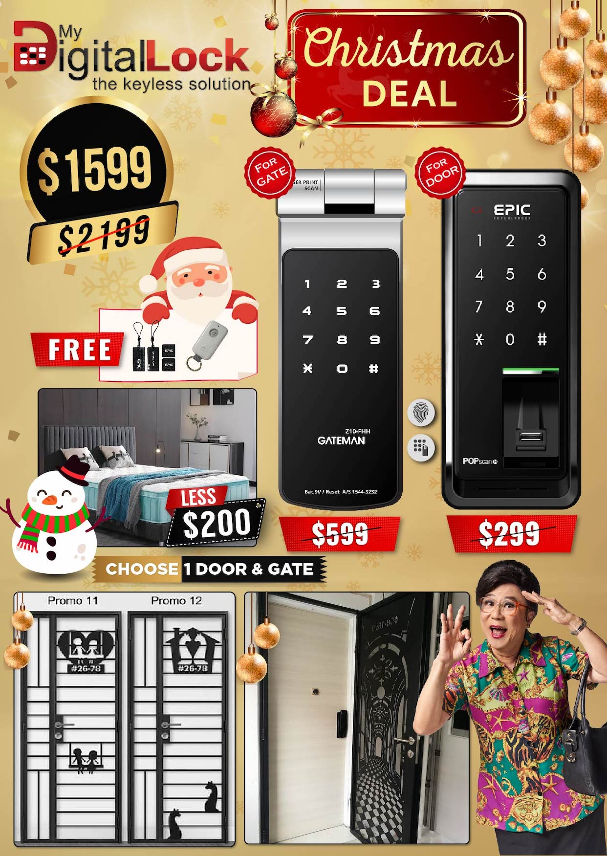 My-Digital-Lock-Door-Gate-Digital-Lock-Christmas-Promotions-2019-2