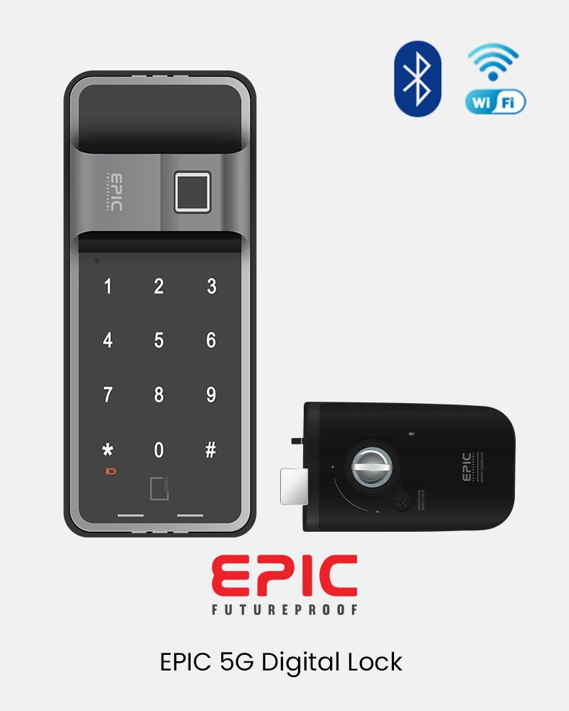 EPIC 5G Digital Lock Product