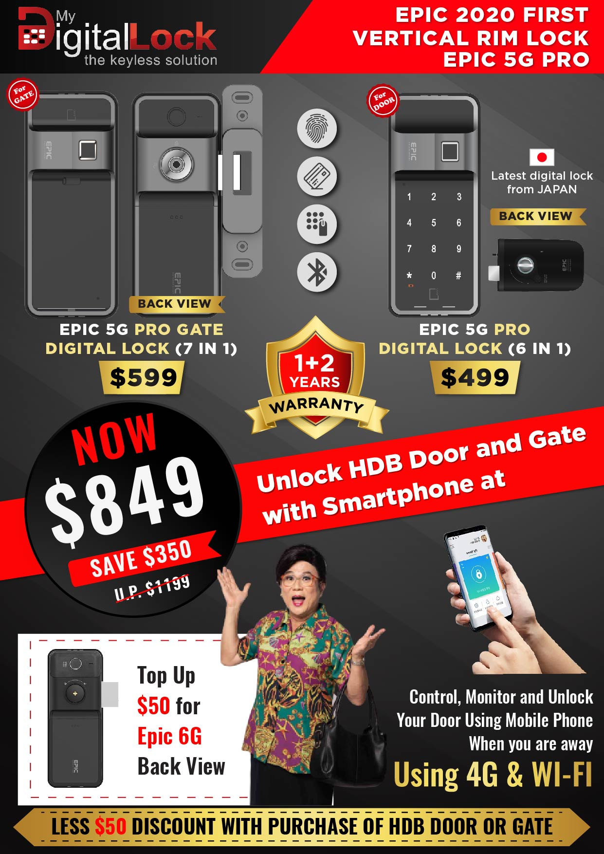 EPIC-5G-PRO-Gate-and-Door-Digital-Lock