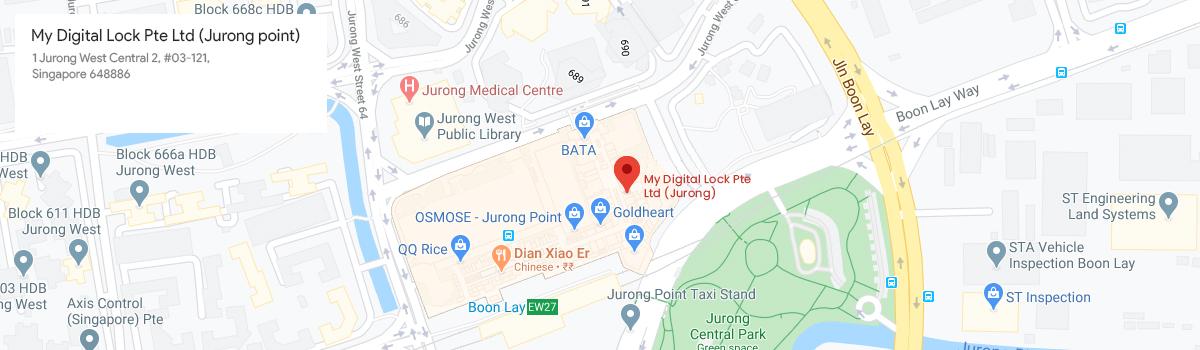 Jurong Point MyDigitalLock Map