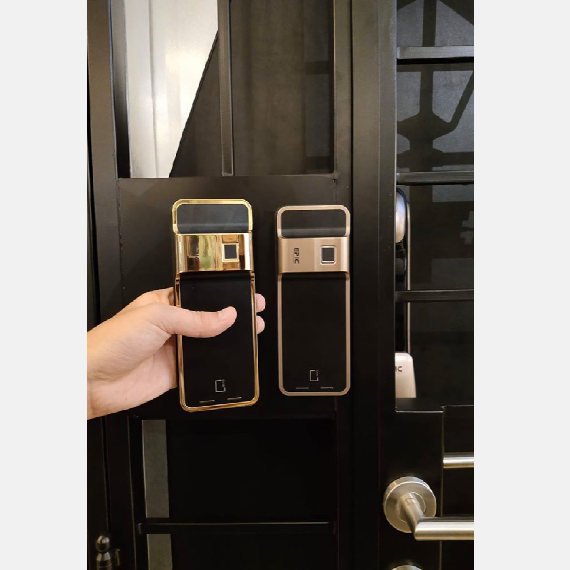 EPIC-24K-Gold-Platted-Gate-Digital-Lock