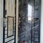 Designer Laminate Solid HDB Main Wooden Door Single Leaf 3×7