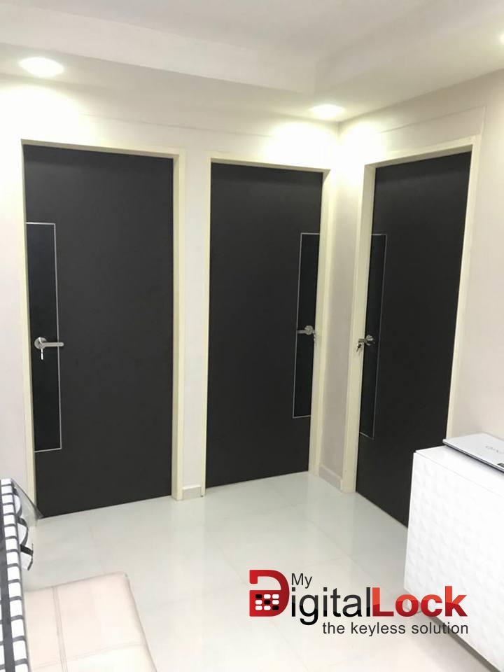 My Digital Lock Supply And Install Hdb Designer Laminate Bedroom Door At Door Factory Price At 380 With 500 Laminate Design In Singapore 91616282 Yishun Bukit Batok Macpherson And Tampines