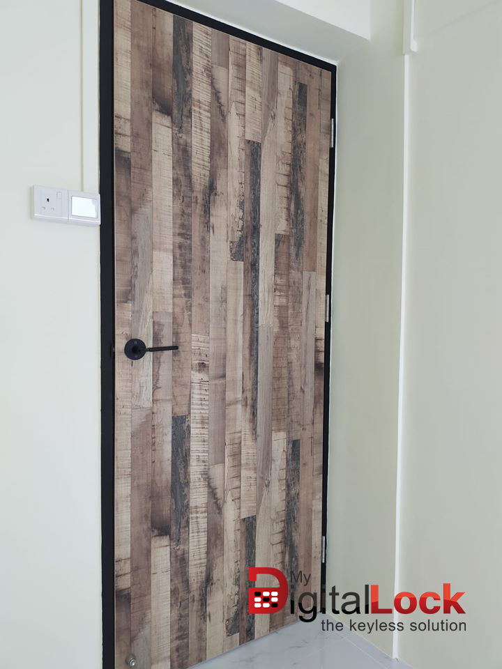 Interior Designer HDB Bedroom Door