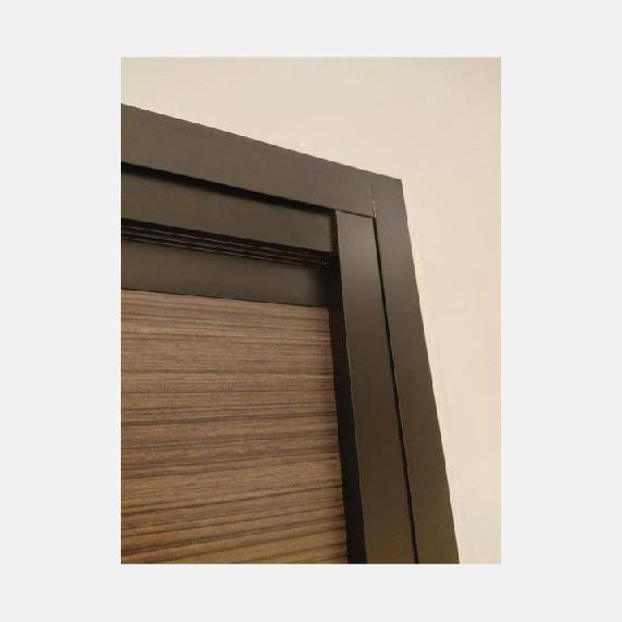 HDB Toilet Door | Upgrade to Black Frame