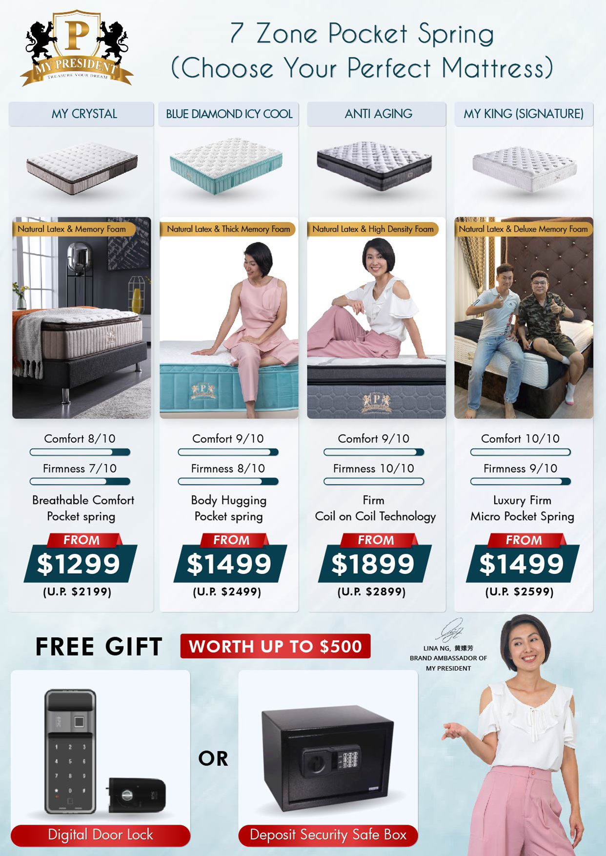 My President Mattress_Choose Your Perfect Mattress