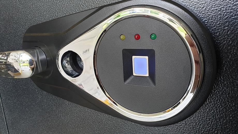SWF Fingerprint Front Panel