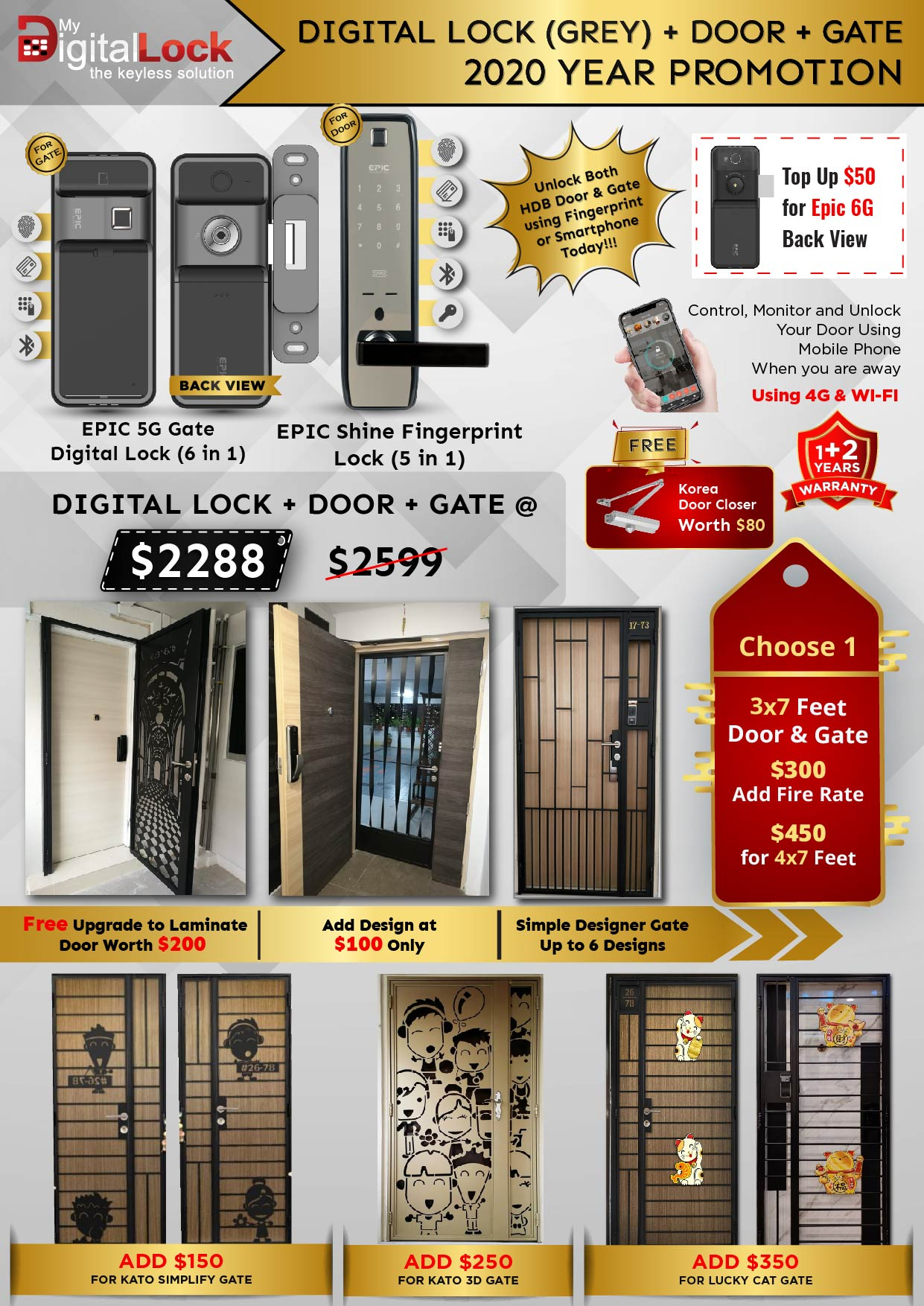 Golden-Rat-Year-HDB-Door-and-Gate-Promotion-with-EPIC-5G-Gate-and-Shine-Fingerprint