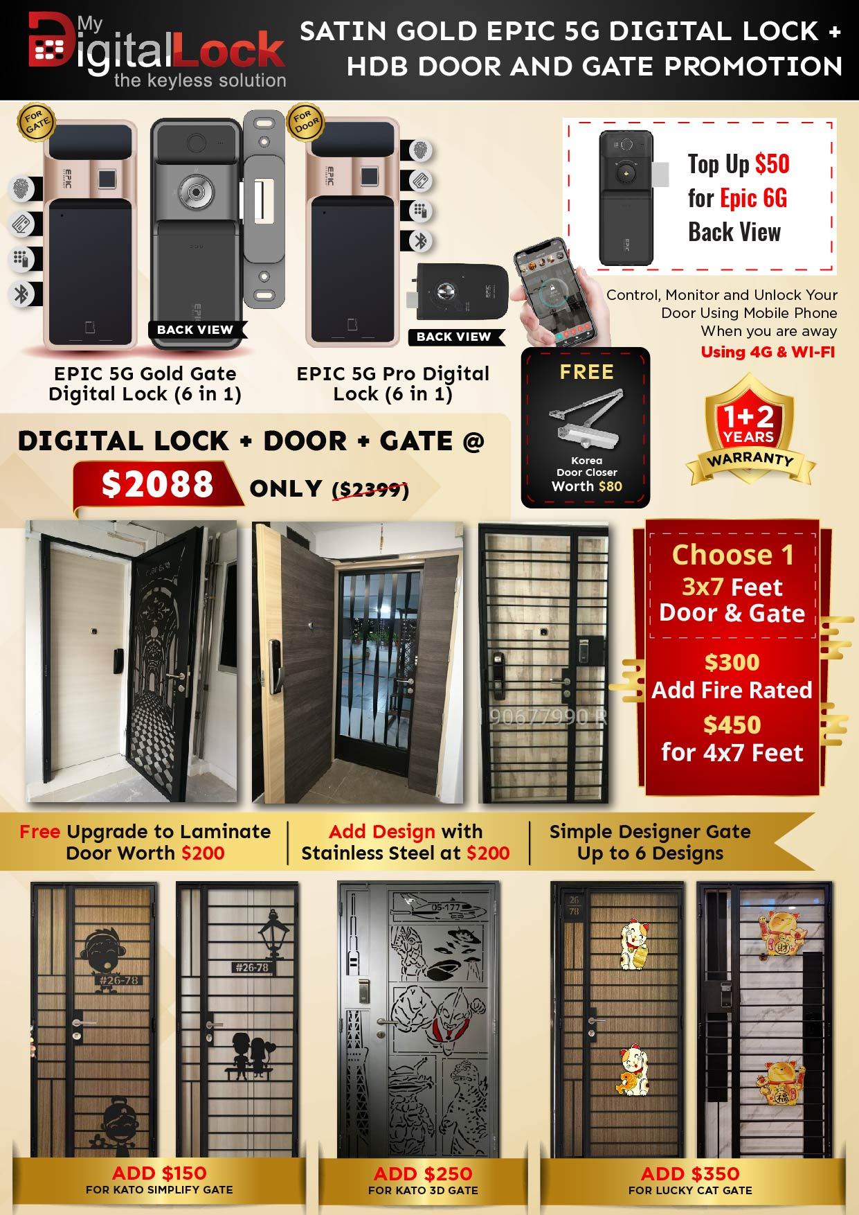 Golden-Rat-Year-HDB-Door-and-Gate-Promotion-with-EPIC-5G-Gold-Gate-and-5G-PRO-Digit