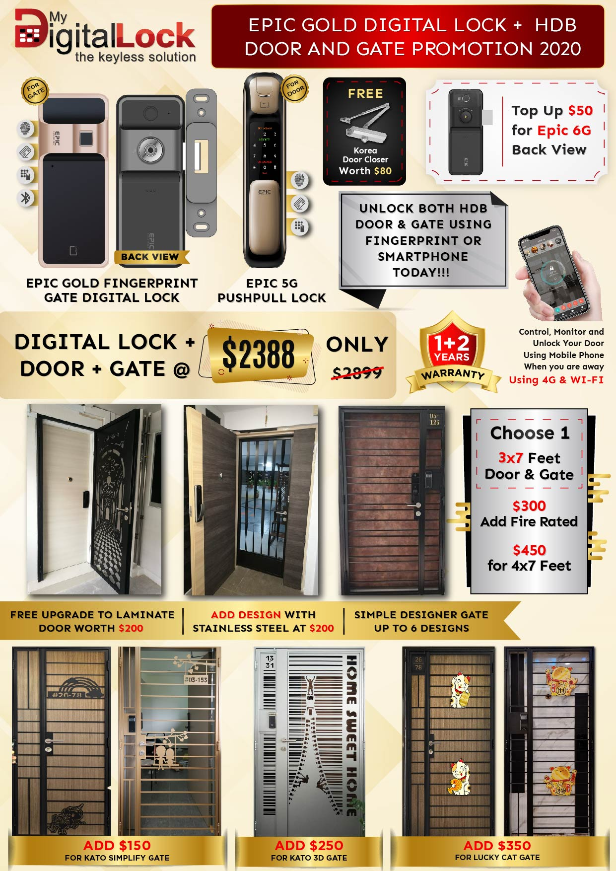 Golden-Rat-Year-HDB-Door-and-Gate-Promotion-with-EPIC-Gold-Fingerprint-and-5G-PushPull