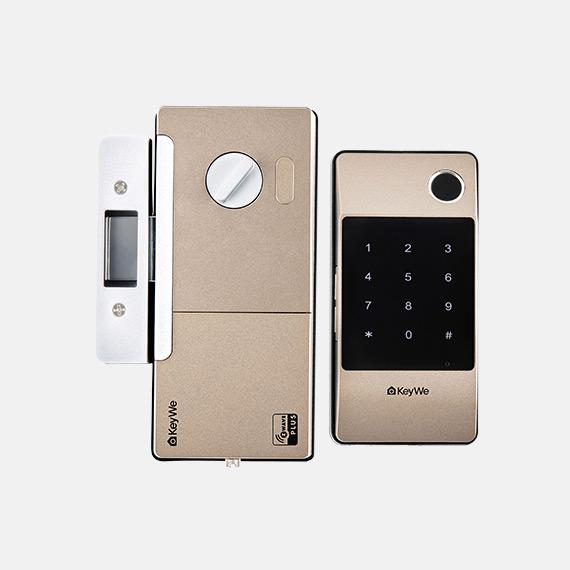 Keywe-Damian-Gold-digital-Door-Lock-(Keypad)