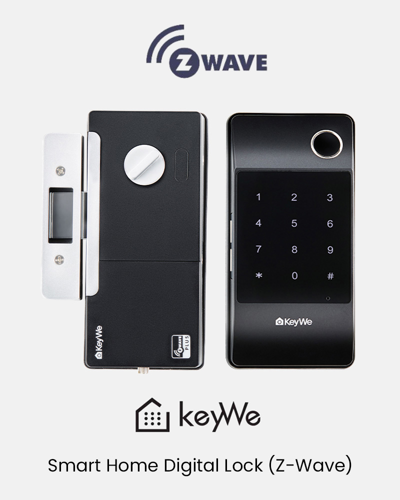 Smart Home Digital Lock (Z-Wave)