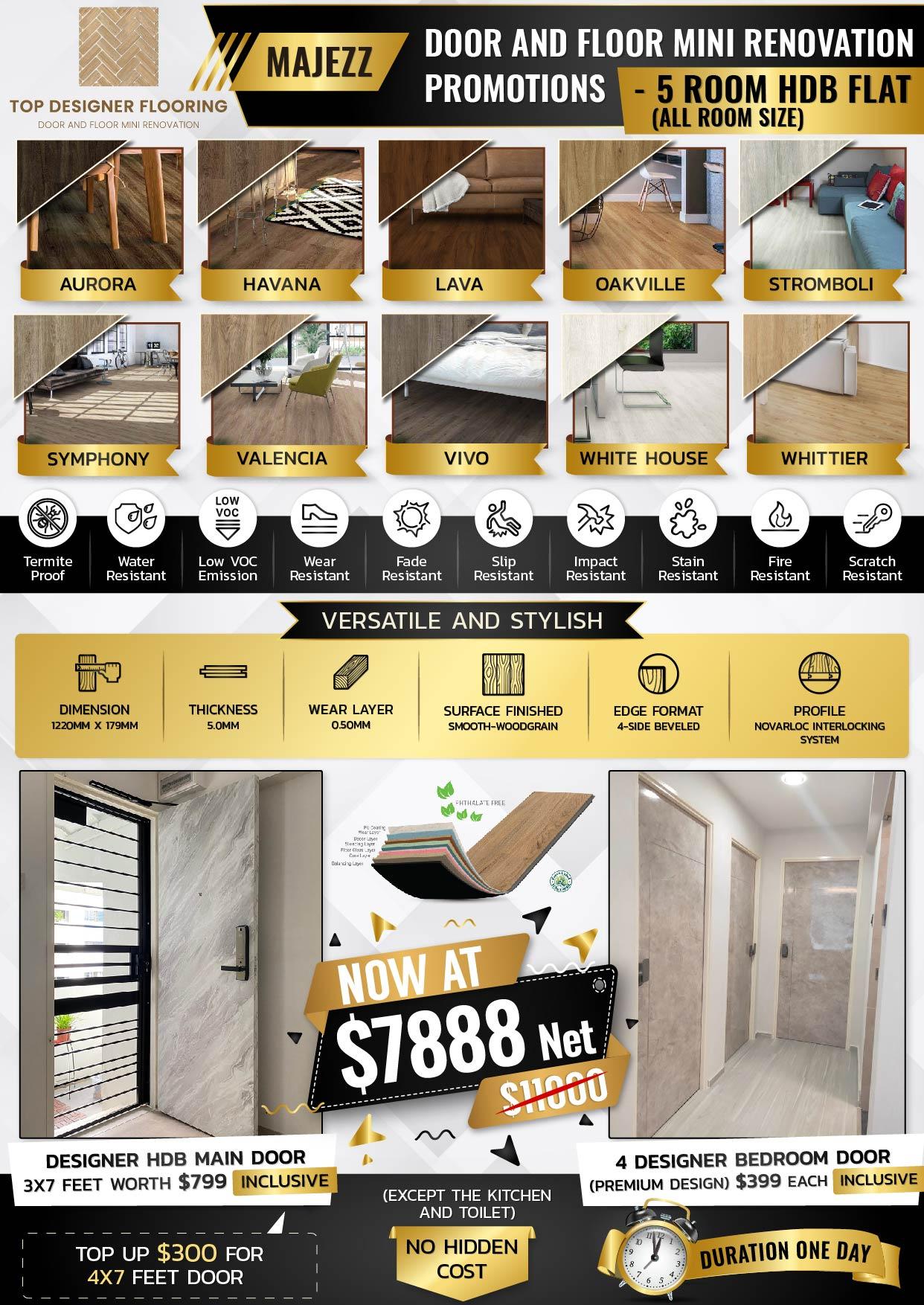 Majezz - 5 Room HDB Flat