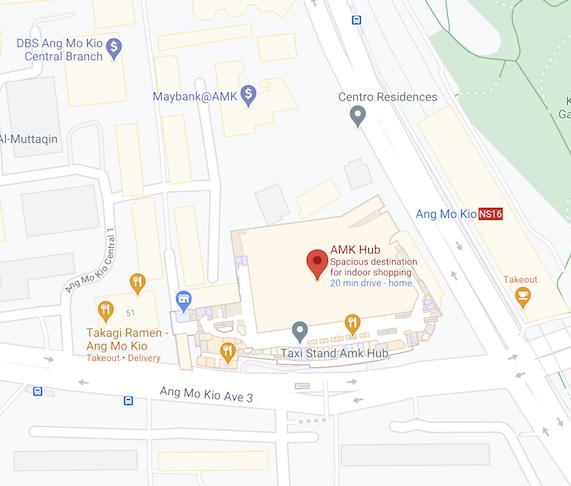 Ang Mo Kio Hub Address - My Digital Lock