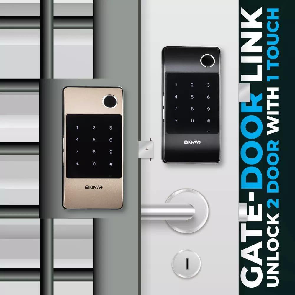 KeyWe Push Pull Door Lock-10