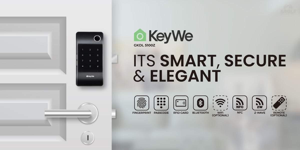 KeyWe Push Pull Door Lock-11
