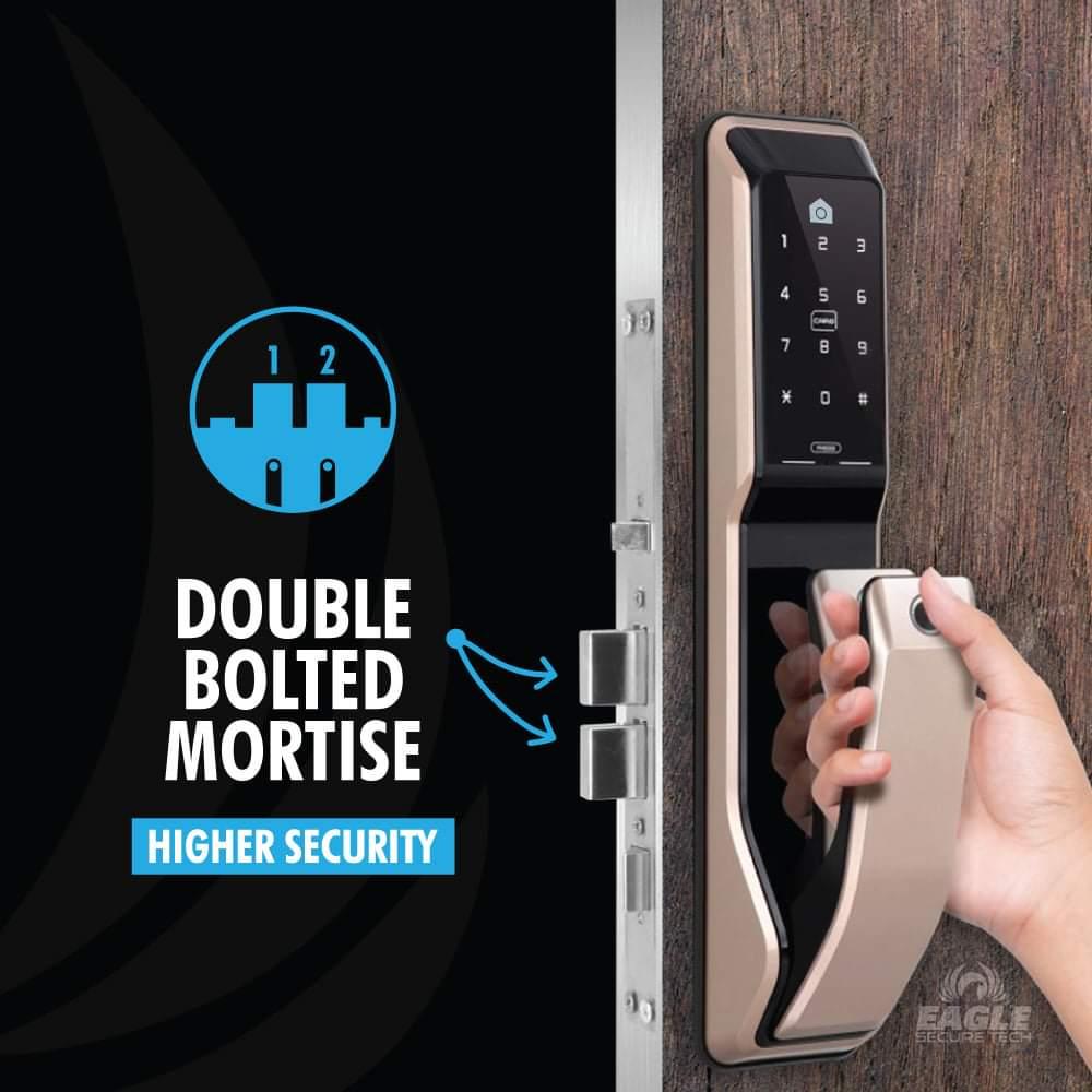 KeyWe Push Pull Door Lock-3
