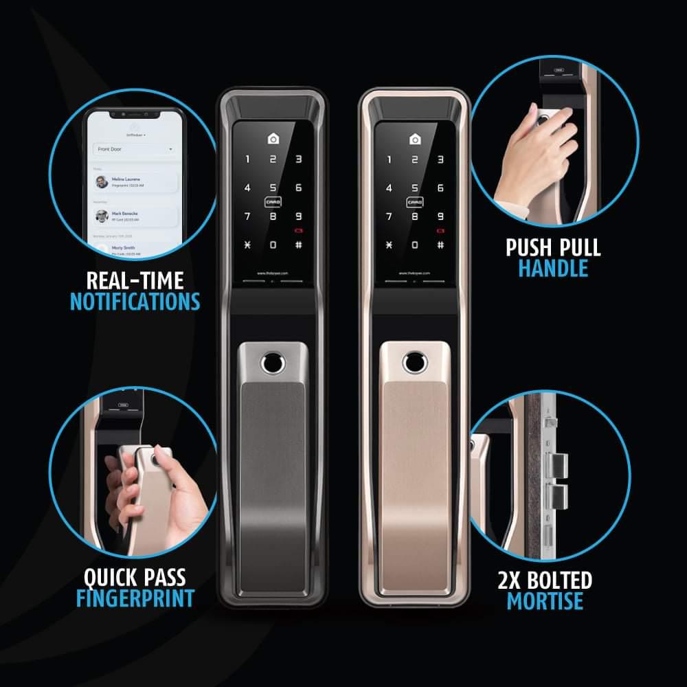 KeyWe Push Pull Door Lock-8