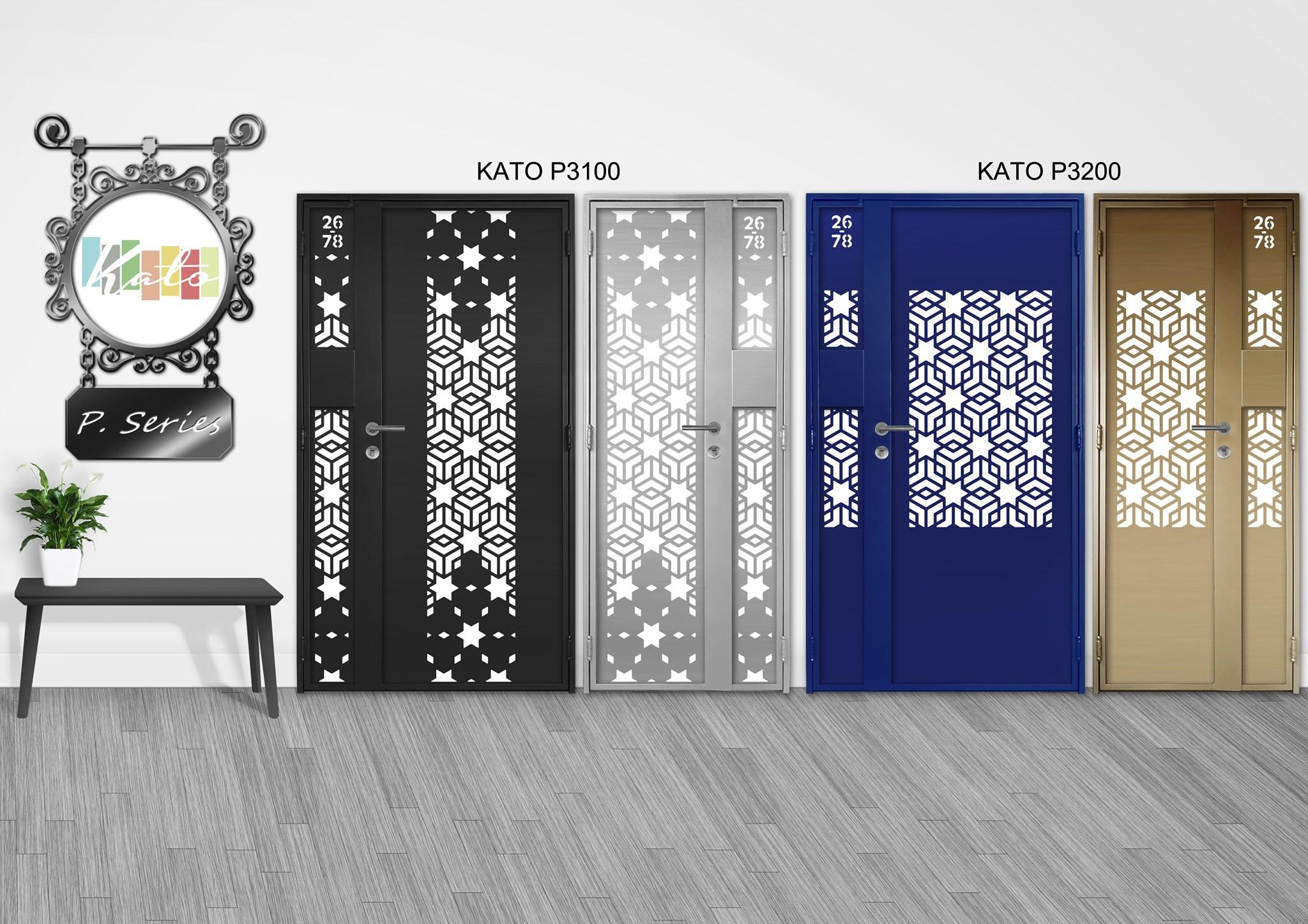 Digital Lock Door   2021 New Kato Laser Cut Design (Latest Trend)